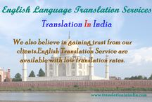 English Translation Services / We do free sample translations to the tune of approx 200 words to our new clients, for them to assess our experience and professionalism in the taken task.