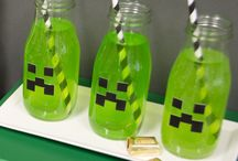 "Minecraft-Inspired Party Ideas / ""That'sssss a nice party you have there..."" Craft an amazing birthday experience for your child with #BirthdayExpress! #Minecraft"