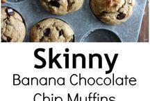 Полезные для здоровья банановые кексы