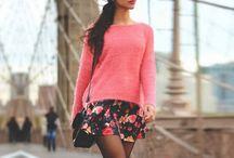 Outfits para Otoño - Invierno / Los mejores outfits para días fríos y nublados que te harán ver muy chic y femenina. Te damos ideas para vestirte desde lo más casual, hasta lo más elegante según sea tu personalidad.  Encontrarás looks armados con faldas, abrigos, jeans, botas, sneakers y cualquier prenda que te imagines. ¡Estas chicas te inspirarán y te pondrán más creativa que nunca para tener los mejores outfits de otoño-invierno!