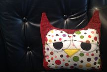 Owl pillow / by Opal Tulpo