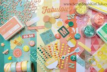 Bolero Inspiration / Inspiration for the Bolero scrap stash kit. Make your own kit from your scrap stash with these colors. www.ScrapStashKitClub.com
