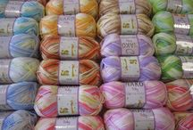 Baby yarn BABY MARVEL PETIT / Beautiful baby yarn which is making it's own pattern while you are knitting. Perfect for little sweaters or socks, hats. Needle size 4 - 4,5mm wool 25% premium acrylic 75% 50G/130M