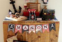 Pirate Themed 7th Birthday