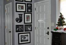 Hallway upstair and entrance