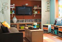 Basement Remodel / by Heather Kindschy