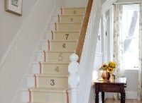 Stairs / Ways to restyle out farmhouse stairways