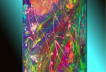 Color therapy / #colortherapy, #colorvibrant, #multicolor  / by Sweetly Art