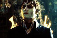 Johnny Depp- Barnabas Collins (Mroczne Cienie)