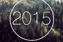 Calendar 2015 / Первая попытка в создании календаря