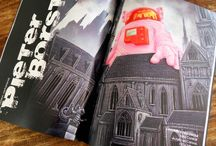 PUBLISHED / The art of Pieter Borst featured in Magazines