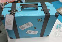 Urne mariage (valise)