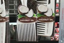 Infused Coconut Oil Combs