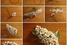 kurdeledan çiçekler