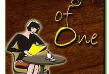 Party of One by Clarice G. James / Party of One is a 79,000-word, women's contemporary novel set in Sandwich, Massachusetts. It was chosen one of five finalists in the 2011 Christian Writers Guild Operation First Novel Contest.  Risking her privacy, widow Annie McGee founds Party of One, a communal table for single diners, where she meets an eclectic mix of colorful characters who cause her to confront her fears, question her beliefs, and doubt her self-assurance.   / by Clarice James