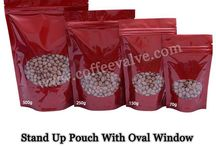Stand Up Pouch With Oval Window