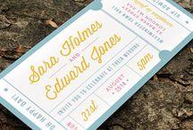 Invitaciones / La tarjeta de presentación de tu boda