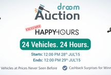 Droom Auction / Amazing Auction on automobiles