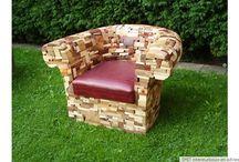 Gebouw+kunst+meubels