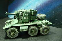 Modelling - Redesign tanks & afv