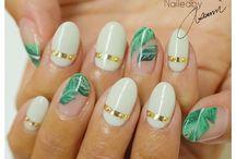 wakacyjne paznokcie - inspiracje