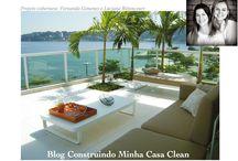 Sacadas Lindas! / Veja + Inspirações e Dicas de decoração no blog!  www.construindominhacasaclean.com