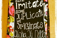 Banners / Banners and sign ideas! / by Alpha Xi Delta Theta Phi