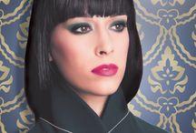 SST Cosmetics Modern Renaisssance / Fall 2013 Trend Makeup