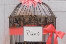 Idées urne mariage / Des idées pour une urne de mariage originale : cage, valise, maison, cadre, vase...