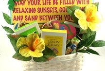 Summer Gift Baskets / Fun and sporty gift baskets for a summer vacation or a trip to the beach.