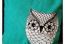 Handmade Pillows / Handmade pillows by Heidi Wholeness Creations