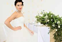 White & gold - WeddingProject.eu