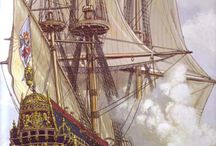 The Age of Sail / Old ships.