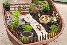 Ideas for Fairy Gardens