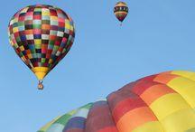 hot air balloons / by Mary Dunnett Reid