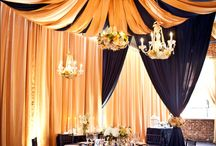 Drapes / Draping ideas for longford barn.