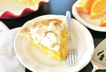 Pie: The Sweet Stuff / I love pie! Retro buttery crust, or foodie filo! Bring it all into the mix!