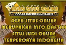 AGENSITUSONLINE.COM MERUPAKAN INFO DAFTAR SITUS JUDI ONLINE TERPERCAYA INDONESIA