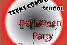 Halloween Party Invitation. Aaron. 12 y.o. Computer School for Kids and Teens in Toronto
