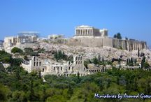 """Miniatures of Greece / Here you will find a selection of """"miniatures"""" - images of Greece that have been made with the tilt-shift effect - making them look like small miniature models. / by Around Greece"""