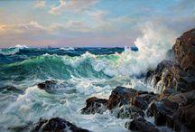 Throw me to the sea / benim denizlerim... her zaman deli dolu, her zaman hırçın, her zaman kıyılarıyla savaşta...