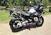 Classic motorcyle / The BMW GS series of dual purpose off-road/on-road BMW motorcycles have been produced from 1980, when the R80G/S was launched, to the present day.