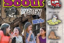 Girl Scout Mysteries / Read all of the Girl Scout adventures, mysteries and mishaps in one of Gallopade's most popular series of books.