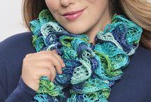 ruffled scarfs