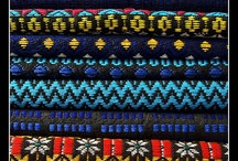 Textiles: in blue