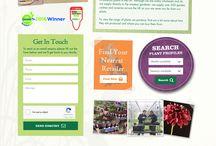 Web Design Portfolio / A selection of websites that I've designed recently.