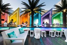 Matisse Beach Club Osborne Park / Australia / 2014 - Oldfield Knott Architects / The exclusive Matisse Beach Club combines glamour, design and beach life with its exclusive location on the amazing beach front of Scarborough, Perth - Australia. Vondom furnishes the Matisse Beach Club through the company Mobilia. With a modern design and contemporary facilities equipped with the latest technology, the beach club offers everything from chic cabanas, beach lounges, casual dining and a sparkling pool to a breathtaking view of the Indian Ocean. #VONDOM  www.matissebeachclub.com.au