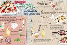 rachel recipes ilustration