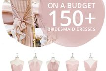 Bridesmaids dresses and more