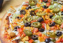 Homemade pizza fun night